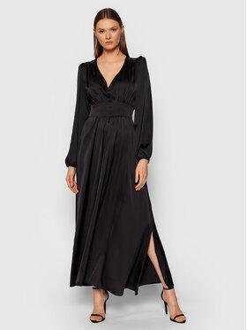 Rinascimento Rinascimento Sukienka wieczorowa CFC0105072003 Czarny Slim Fit
