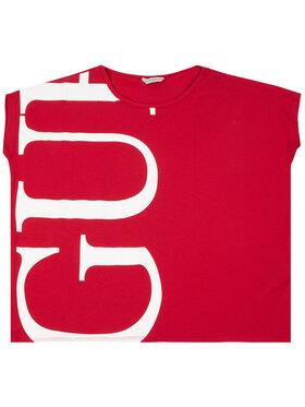 Guess Tričko J93I38 K82K0 Červená Regular Fit