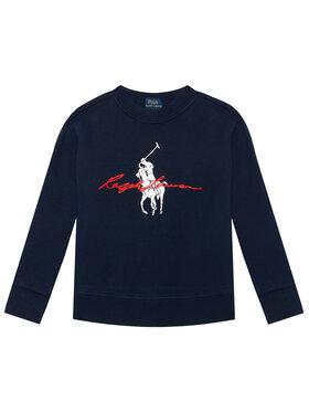 Polo Ralph Lauren Polo Ralph Lauren Bluză Ls Cn 321839336002 Bleumarin Regular Fit