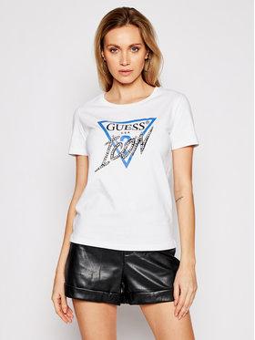 Guess Guess T-shirt Ss Cn Icon Tee W1RI25 I3Z00 Bianco Regular Fit