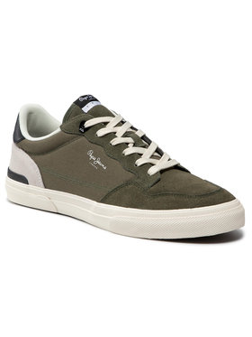 Pepe Jeans Pepe Jeans Sneakersy Kenton Orginal Man PMS30673 Zelená