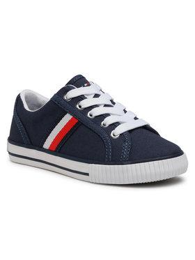 Tommy Hilfiger Tommy Hilfiger Tenisówki Low Cut Lace-Up Sneaker T3B4-31070-1185 M Granatowy
