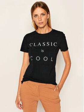 Weekend Max Mara Weekend Max Mara T-Shirt Ofride 59760409 Schwarz Slim Fit