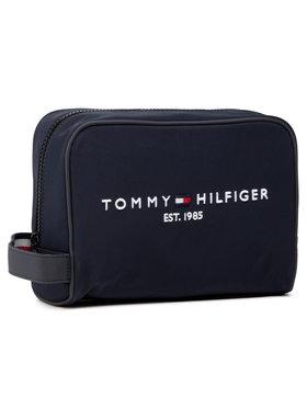 Tommy Hilfiger Tommy Hilfiger Pochette per cosmetici Th Established Washbag AM0AM07306 Blu scuro