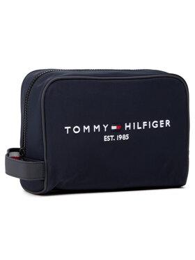 Tommy Hilfiger Tommy Hilfiger Trousse de toilette Th Established Washbag AM0AM07306 Bleu marine