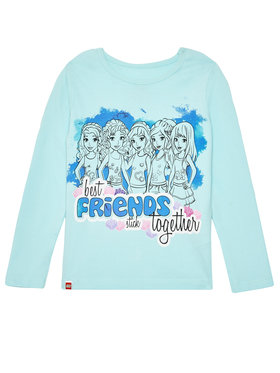 LEGO Wear LEGO Wear Blúzka LEGO® Friends M-72181 20246 Modrá Regular Fit