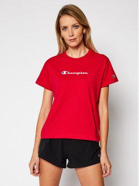Champion Champion T-Shirt Tee 113599 Rot Regular Fit