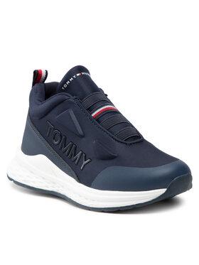 Tommy Hilfiger Tommy Hilfiger Sneakersy Low Cut Sneaker T3B4-32082-1231 M Granatowy