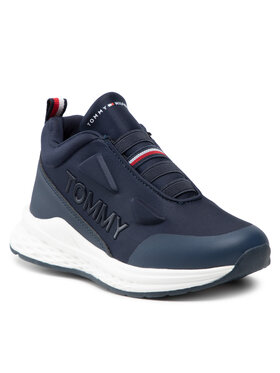 Tommy Hilfiger Tommy Hilfiger Сникърси Low Cut Sneaker T3B4-32082-1231 M Тъмносин