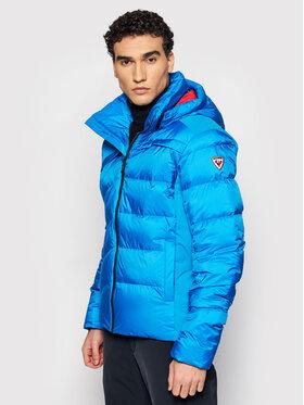 Rossignol Rossignol Lyžařská bunda Hiver RLIMJ40 Modrá Slim Fit
