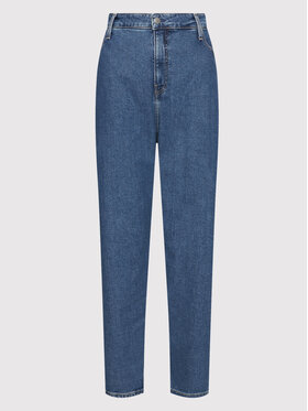 Calvin Klein Jeans Plus Calvin Klein Jeans Plus Джинси J20J217529 Голубий Mom Fit