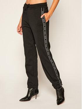 MSGM MSGM Teplákové nohavice 2941MDP68 207799 Čierna Regular Fit