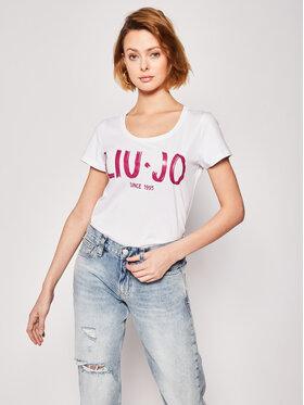Liu Jo Liu Jo T-Shirt FA0280 J5703 Weiß Regular Fit