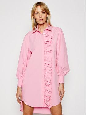MSGM MSGM Košeľové šaty 3041MDA02 217104 Ružová Regular Fit