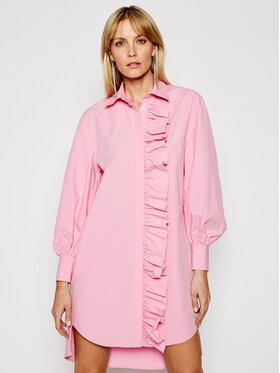 MSGM MSGM Robe chemise 3041MDA02 217104 Rose Regular Fit