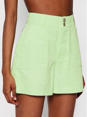 Tommy Jeans Tommy Jeans Дънкови шорти Harper High DW0DW09753 Зелен Regular Fit