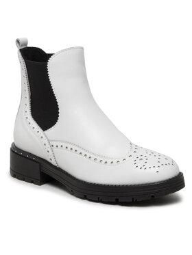 Baldaccini Baldaccini Kotníková obuv s elastickým prvkem 1029000 Bílá