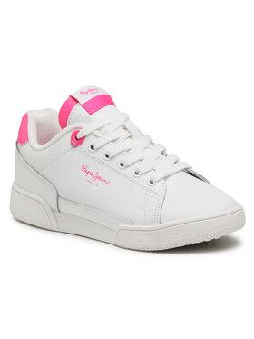 Pepe Jeans Pepe Jeans Sneakersy Lambert Bright PGS30499 Biały