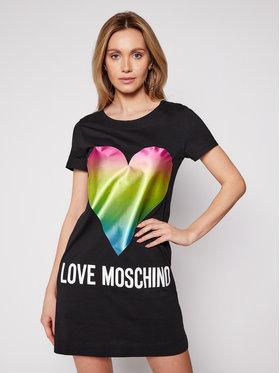 LOVE MOSCHINO LOVE MOSCHINO Ежедневна рокля W592914M 3876 Черен Regular Fit