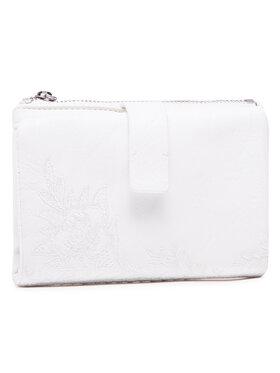 Desigual Desigual Portefeuille femme grand format 21SAYP25 Blanc