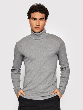 Marc O'Polo Marc O'Polo Bluză cu gât 129 2202 52354 Gri Slim Fit