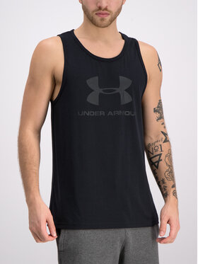 Under Armour Under Armour Tank-Top UA Sportstyle Logo 1329589 Schwarz Regular Fit