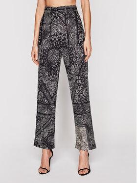 Pinko Pinko Текстилни панталони Nuvolari PE21 PSPG 1N134Q 8547 Черен Regular Fit