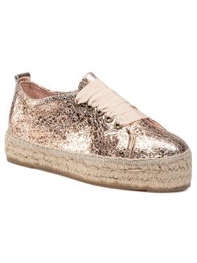 Manebi Manebi Espadryle Sneakers D G 0.4 E0 Złoty