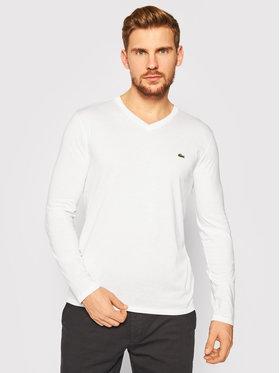Lacoste Lacoste Тениска с дълъг ръкав TH6711 Бял Regular Fit