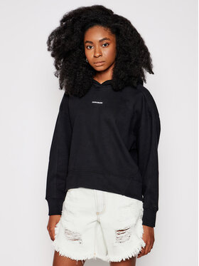 Calvin Klein Jeans Calvin Klein Jeans Mikina J20J215462 Čierna Regular Fit