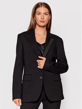 KARL LAGERFELD KARL LAGERFELD Blazer Punto 211W1420 Noir Regular Fit