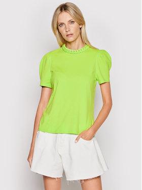 Imperial Imperial Bluză TL85BAS Verde Regular Fit