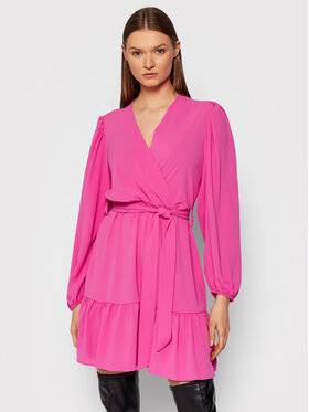 Rinascimento Rinascimento Sukienka koktajlowa CFC0103974003 Różowy Regular Fit