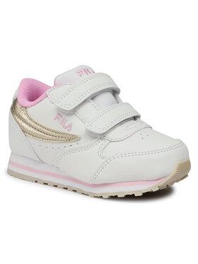 Fila Fila Sneakersy Orbit Velcro Infants 1011080.00I Biały