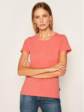 Calvin Klein Calvin Klein Póló Stud Logo K20K202155 Rózsaszín Regular Fit
