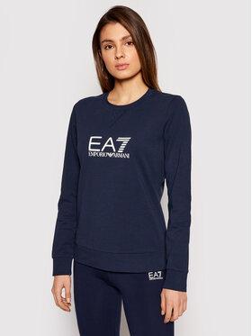 EA7 Emporio Armani EA7 Emporio Armani Majica dugih rukava 8NTM39 TJ31Z 1554 Tamnoplava Regular Fit