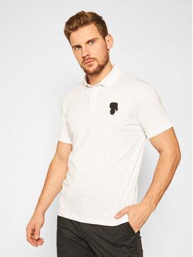 KARL LAGERFELD KARL LAGERFELD Polo 745025 502223 Blanc Regular Fit
