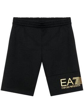 EA7 Emporio Armani EA7 Emporio Armani Pantaloni scurți sport 3KBS53 BJ05Z 1200 Negru Regular Fit