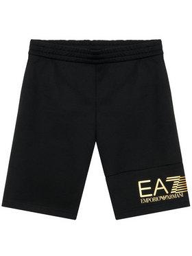EA7 Emporio Armani EA7 Emporio Armani Sportovní kraťasy 3KBS53 BJ05Z 1200 Černá Regular Fit