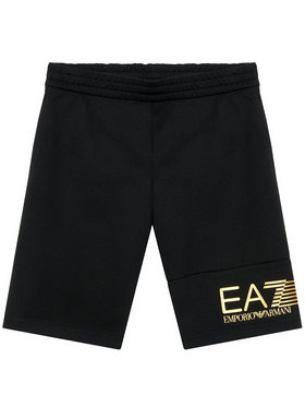 EA7 Emporio Armani EA7 Emporio Armani Szorty sportowe 3KBS53 BJ05Z 1200 Czarny Regular Fit
