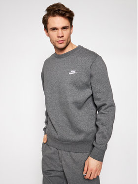 Nike Nike Majica dugih rukava Sportswear Club Fleece BV2662 Siva Standard Fit