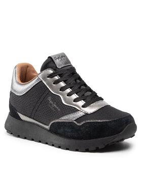 Pepe Jeans Pepe Jeans Sneakersy Dean Top PLS31220 Černá