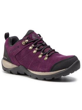 Columbia Columbia Turistiniai batai Fire Venture S II Wp BL0827 Violetinė