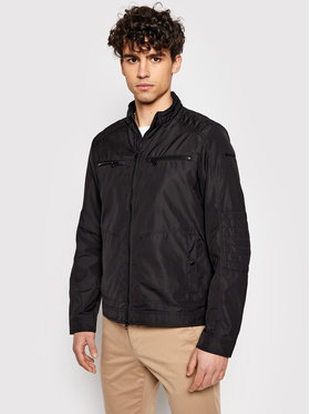 Geox Geox Átmeneti kabát Renny M1221V T2801 F9000 Fekete Regular Fit