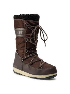 Moon Boot Moon Boot Bottes de neige Monaco Wool Wp 24008900007 Marron