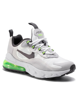 NIKE NIKE Обувки Air Max 270 React (GS) BQ0103 102 Сив