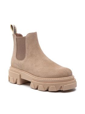 Carinii Carinii Členková obuv s elastickým prvkom B5948 Béžová
