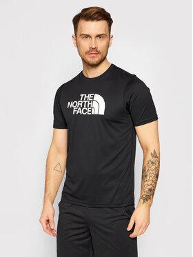 The North Face The North Face Тениска от техническо трико Train Logo Flex NF0A3UWSJK31 Черен Regular Fit