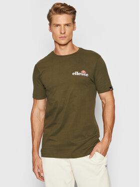 Ellesse Ellesse T-Shirt Voodoo SHB06835 Zielony Regular Fit