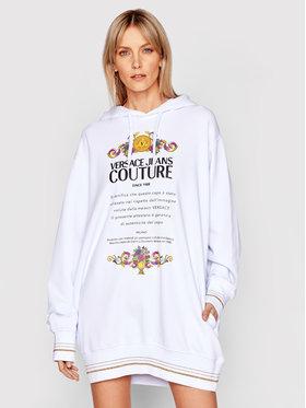 Versace Jeans Couture Versace Jeans Couture Kötött ruha B6HWA7TL Fehér Relaxed Fit